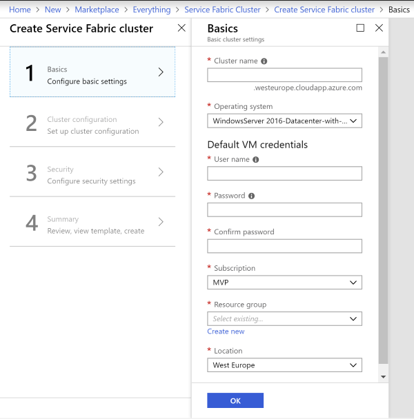Getting Started with Containers on Service Fabric