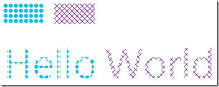 WPF Patterned & Hatched Brushes
