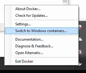 docker management gui windows