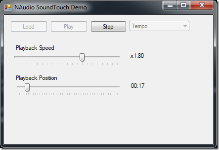 Varispeed Playback with NAudio using SoundTouch
