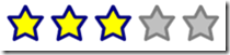XAML Star Rating